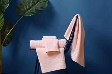 鹅卵石纹 酒店毛巾定制